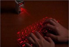 laser light keyboard