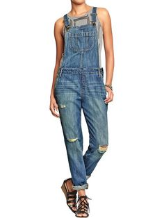 Have been on the hunt for a pair of long overalls (After LIVING all summer in my short overalls!) and this pair is the definite WINNER! (Under $50!)
