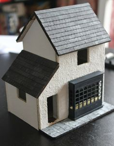 Rendering the Outside of the 1/48th Shop ~ Adventures in 12th Scale