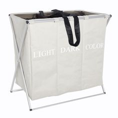 Buy Wenko Laundry Bin Trio, Beige from our Laundry Baskets, Bins & Bags range at John Lewis & Partners. Free Delivery on orders over Laundry Sorting, Laundry Bin, Laundry Hamper, Laundry Room, Folding Wagon, Paint Storage, London House, Spring Cleaning, Home Decor Items