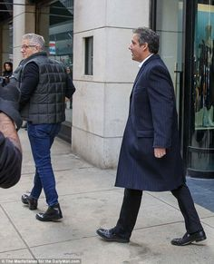 Michael Cohen has lunch at Barneys with Morning Joes Donny Deutsch -  The pair were photographed leaving Barneys together on Wednesday afternoon  The pair dined at Freds the popular restaurant on the ninth floor  Deutsch appeared on MSNBC's Morning Joe show earlier in the day  He told host Joe Scarborough 'good guy' Cohen has a lot weighing on him  'I think Michael has a chance to be on the right side of history' and bring down presidency Donny said  After lunch Cohen was overheard telling…