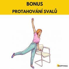 6 efektivních cviků jak zhubnout boky, zatímco sedíte na židli Gentle Yoga, Workout, Memes, Health, Sports, Hs Sports, Health Care, Work Out, Meme