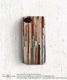 Unique iphone case Wood iPhone case Geometric iPhone 5s by TonCase, $25.99
