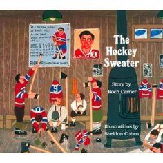 The Hockey Sweater, Landon like this book!
