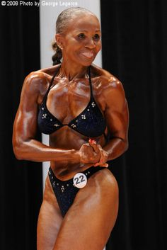 "This is truly INSPIRING!!!    75 year old Ernestine Shepherd insists that ""age is nothing but a number"".    ""Miss Ernie"", as she is known in the world of competitive bodybuilding, began training at the tender age of 71.    She says her true calling in life, however, is helping others to follow a more healthy lifestyle.    She practice what she preach...truly from the heart."