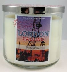 Bath & Body Works London Calling TEA and Lemon 3 Wick 14.5 Oz Candle with Decorative Lid Bath & Body Works http://www.amazon.com/dp/B00ICCXFZA/ref=cm_sw_r_pi_dp_-i0Xtb0X49FTC4WD