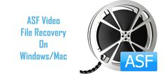 If you have lost or accidentally deleted your ASF video files from your computer hard drive, memory cards, USB flash drive or from any other media storage and if you want to recover them back, then you can potentially retrieve back those deleted ASF videos with the help of Digital Media Recovery Tool.
