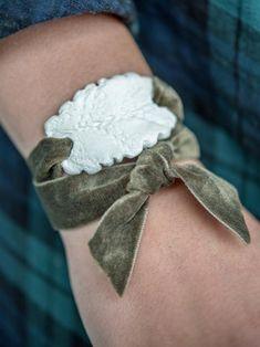 DIY: Stamped Clay Bracelet | HGTV >> http://www.hgtv.com/design/make-and-celebrate/handmade/how-to-make-a-stamped-clay-bracelet?soc=pinterest