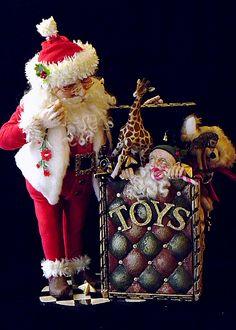 Lynn West Santa Jack in the box