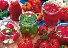 Conserves : Tomates entières au naturel - Alain Muriot - Rustica éditions
