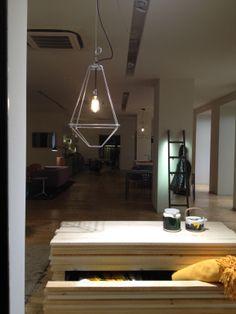 #ConTradition #small luminous #lamp at #Spazio #Cavana , #ZinelliPerizzi #Trieste #youropinionworld