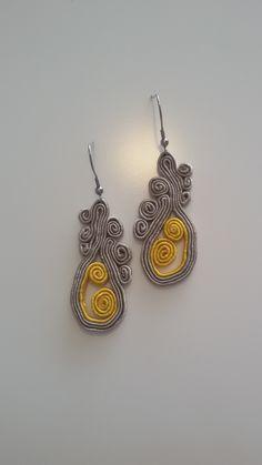 my soutache earrings