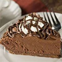 EASY CHOCOLATE DELIGHT PIE by Michelle