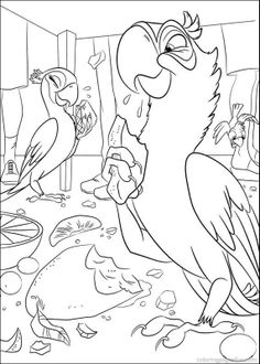 Rio Birds Coloring Pages #7 - http://coloringonweb.com/2014/04/rio-birds-coloring-pages-7-8882/