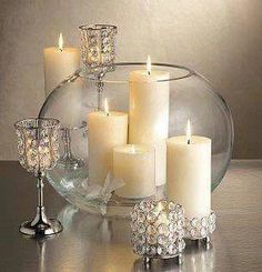 Diy wedding centerpieces 452822937534027583 - 36 Best Stunning Diy Wedding With Elegant Candle Centerpieces – weddingtopia Source by eleanorfriend Wedding Centerpieces, Wedding Table, Diy Wedding, Wedding Decorations, Christmas Decorations, Crystal Centerpieces, Centerpiece Ideas, Elegant Centerpieces, Fishbowl Centerpiece
