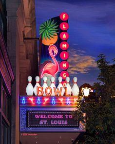 Flamingo Bowl :: St. Louis' Downtown Bowling Mecca!