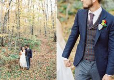 Rustic Fall Wedding   Photo by When He Found Her   Read more - http://www.100layercake.com/blog/?p=72785
