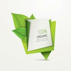 Organic 3d origami banner