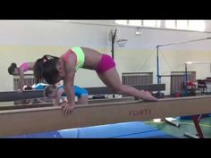 Balance Beam Conditioning - YouTube