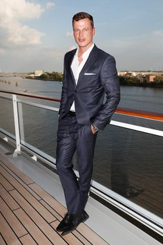 MR. COOL || Model Lars Burmeister. FASHION2NIGHT at EUROPA 2. || MIX IT Ausnahmsweise nur Party statt Kreuzfahrt / MIX IT For once just a party but no cruise. Foto: © Hapag-Lloyd Cruises