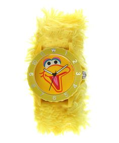 Take a look at this Viva TIme Big Bird Sport Slap Watch by Sesame Street Watches on today! Sesame Street Characters, Slap Bracelets, Big Bird, Cool Watches, Wrist Watches, Jaba, Kids Playing, Gifts For Kids, Toddler Girl