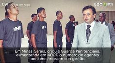 Segurança ao mineiros com aumento de agentes penitenciarios. #AecioNeves #ParaMudarOBrasil http://120diascomaecio.tumblr.com/