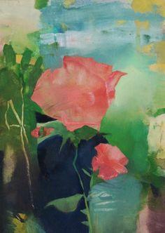 Roseness, painting by artist Randall David Tipton