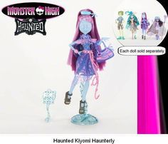00f6fe58607 Haunted - Kiyomi Haunterly (Coming 2015) New Monster High Dolls, Love  Monster,