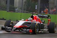 Jules Bianchi 2014 Singapore FP1 - Marussia F1 Team - Wikipedia, la enciclopedia libre