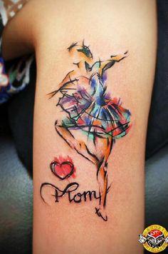 24-Luv-U-Mom-watercolor-tattoo.jpg (600×906)