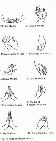 Mudras are a non-verbal mode of communication and self-expression, consisting of hand gestures and finger-postures. They are symbolic sign based... #meditate #expression