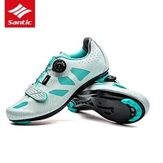 96.91$  Watch now - http://alicpi.shopchina.info/1/go.php?t=32813789442 - SANTIC PRO Road Cycling Shoes Women Self-Locking Road Bike Shoes Breathable Athletic Bicycle Shoes Sapatilha Ciclismo 2017  #magazineonlinewebsite