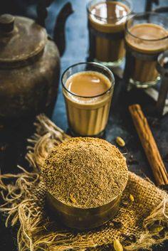 Masala Powder Recipe, Masala Recipe, Tea Recipes, Indian Food Recipes, Masala Tea, Chai Recipe, Tea Powder, Homemade Spices, Spice Mixes