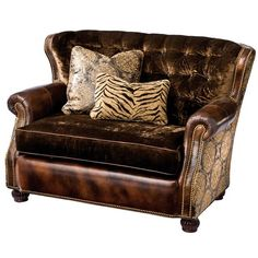 I pinned this Mamie Settee from the Massoud event at Joss and Main!