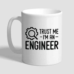 Trust Me I'm An Engineer, Take It Apart & Fix It, Engineer Gifts, Engineer Mug, Gifts For Engineers, Engineering, Engineer, Civil Engineer