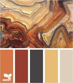 warm earth palette