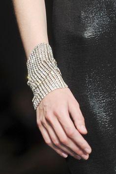 Krizia at Milan Fashion Week Fall 2011 - Details Runway Photos Heart Pendant Necklace, Heart Earrings, Jewelry Accessories, Fashion Accessories, Cheap Jewelry, Fine Jewelry, Jewelry Shop, Latest Fashion For Women, Womens Fashion