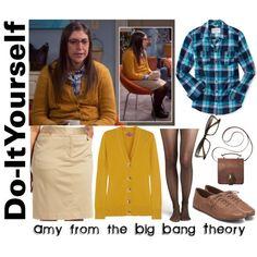 """""""390 - DIY Amy Farrah Fowler"""" by fashionablyroyal on Polyvore"""