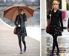 Celebrity Fashion: Taylor Swift...Girly and Sexy