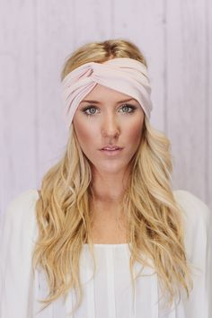 Turban Headband Wide Twist Stretchy Turband by ThreeBirdNest, $22.99