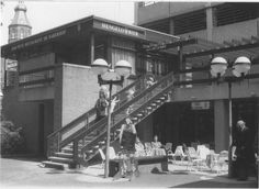 Naberpassage nummer 8. Restaurant De Naberhof omstreeks 1980 - Foto's SERC
