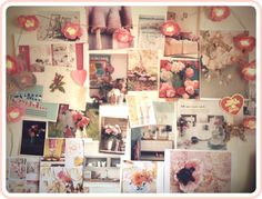 I want to make a cute pinboard like this one day :3