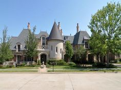 French Chateau style home, Frisco, Texas