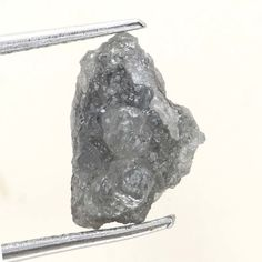 1.66 TCW Grayish  Color African Irregular Loose Rough Natural Raw Diamond