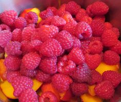 Miesi: Himbeer-Nektarinen-Marmelade