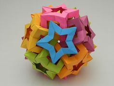 Six Interlocking Star Prisms | Flickr - Photo Sharing!