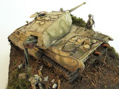 plastic model King Tiger Porsche Panzerkompanie 316 Dragon 1:35 by uki761