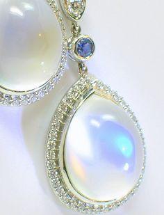 Balinese Sterling Silver Handmade Jewelry Snake Dangle Earrings with Topaz, silver earrings, handmade jewelry, snake earrings - Custom Jewelry Ideas Moonstone Jewelry, Gems Jewelry, Pearl Jewelry, Antique Jewelry, Gemstone Jewelry, Vintage Jewelry, Jewelry Accessories, Handmade Jewelry, Jewelry Design