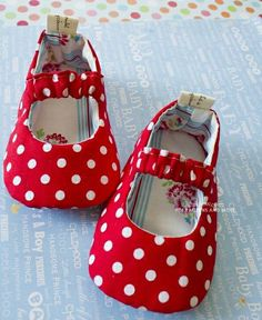 Baby Mary Jane Shoes PDF Pattern