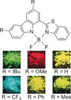Color-Tunable Solid-State Fluorescence Emission from Carbazole-Based BODIPYs DOI: 10.1002/chem.201505150